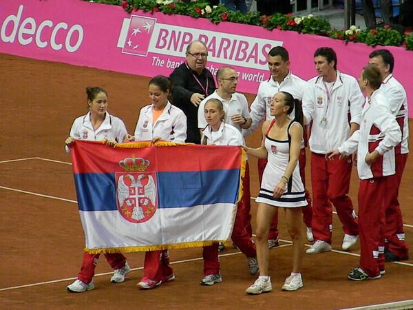 Сборная Сербии вышла в финал Кубка Федерации