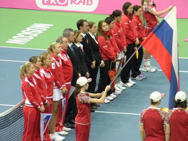 Открытие матча Россия - Испания