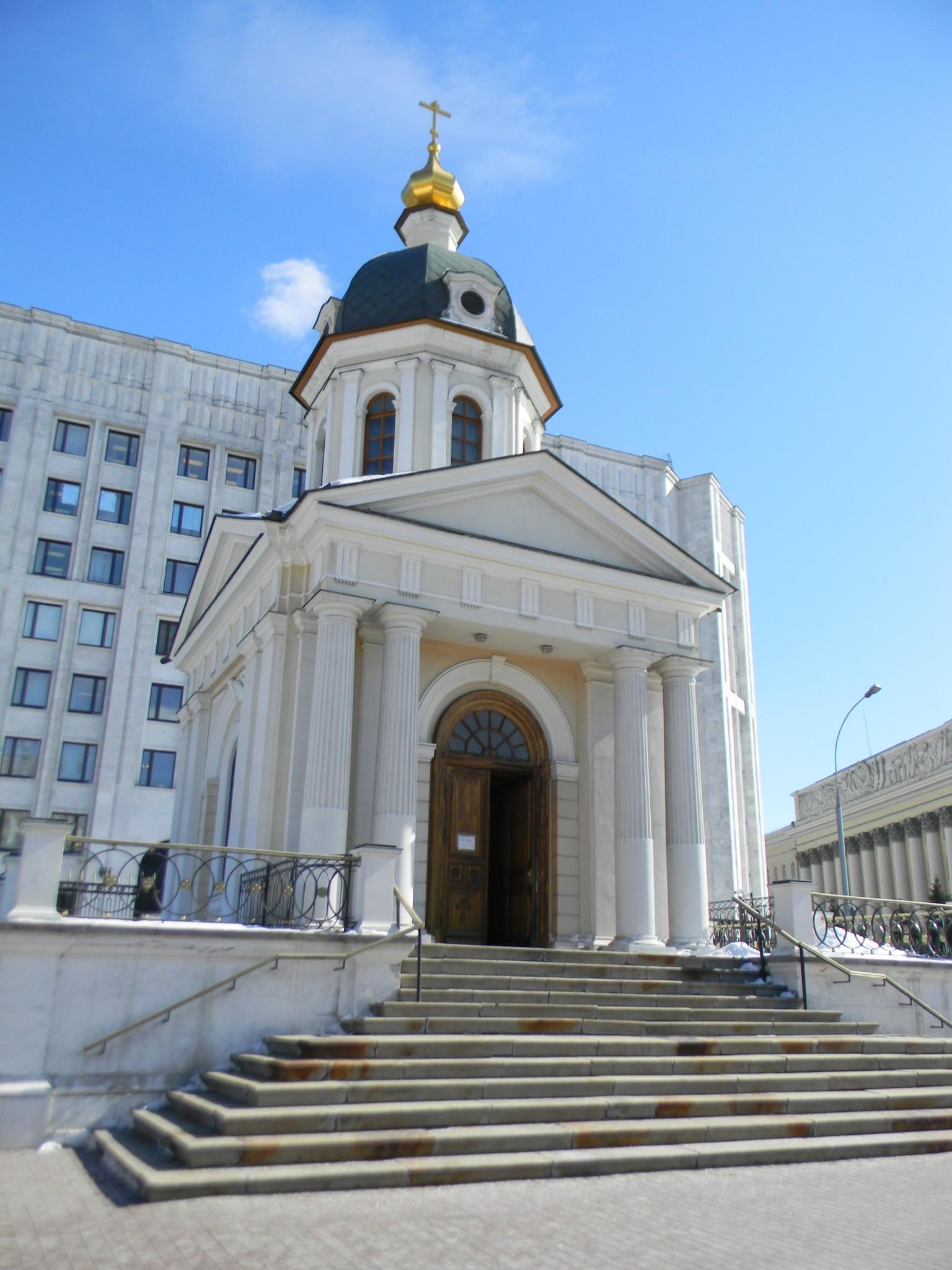 Храм-часовня во имя свв. блгвв. кнн. Бориса и Глеба на Арбатской площади