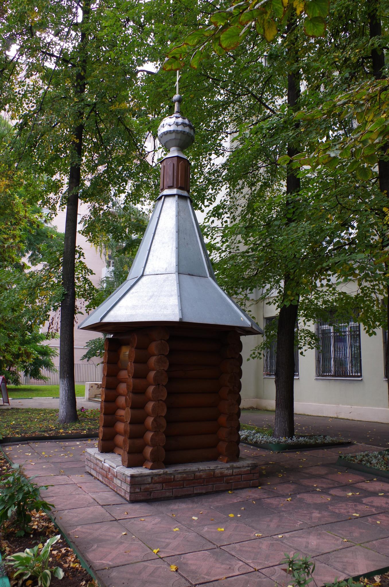Часовня на месте храма Живоначальной Троицы в Больших Лужниках