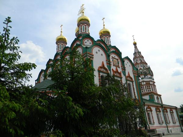Храм Николая Чудотворца в Хамовниках. 22 мая 2012 года