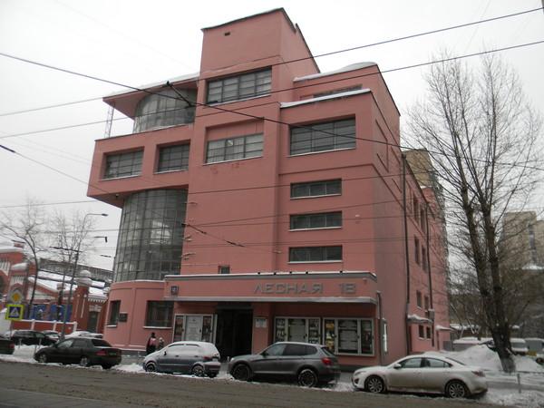 Клуб имени С.М. Зуева (Лесная улица, дом 18)