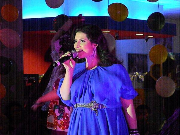 Жасмин на концерте в Пражском пассаже