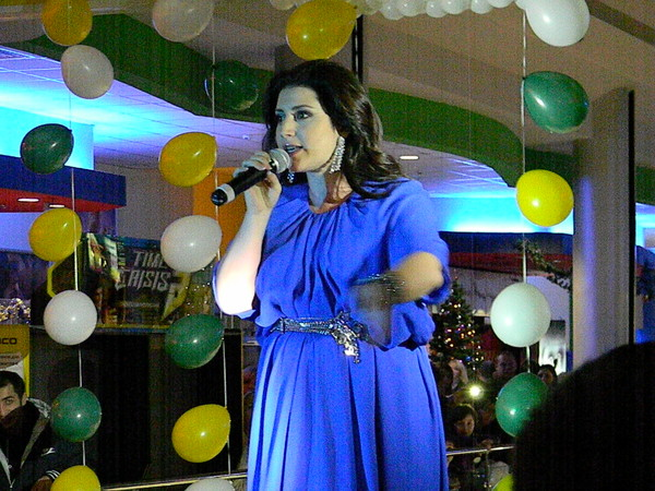 Поёт Жасмин (26 ноября 2011 г.)