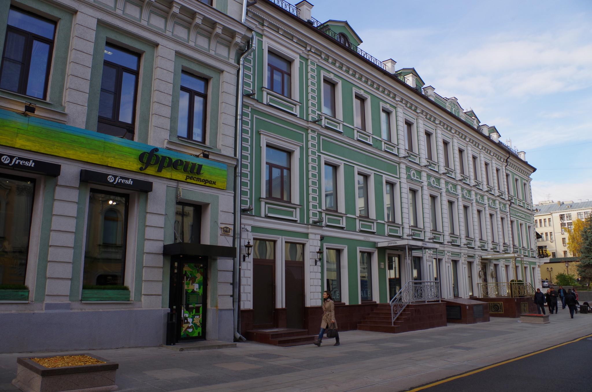 улица Большая Дмитровка, дом 11, строение 1А и дом 13