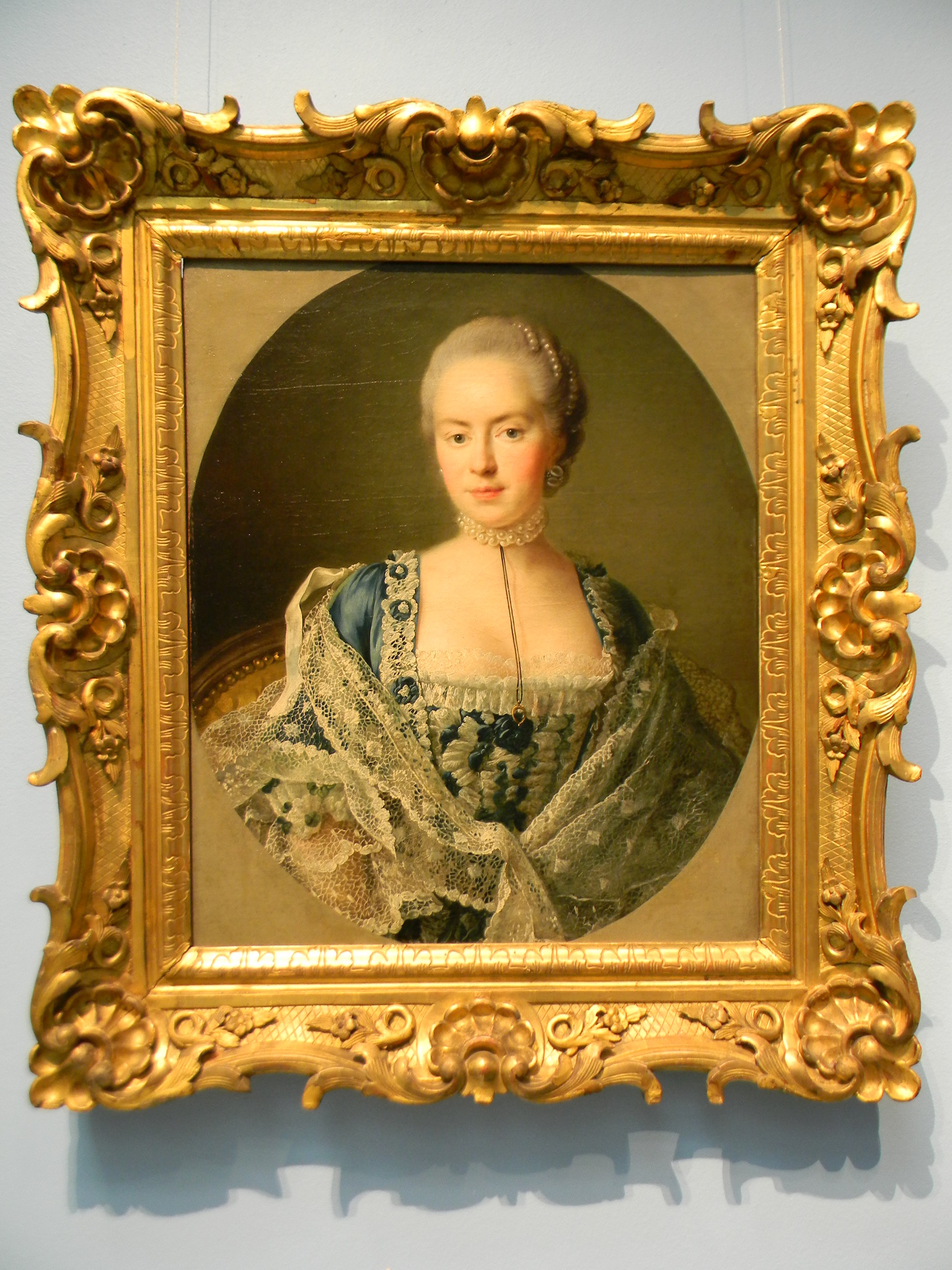 Портрет графини Дарьи Петровны Чернышёвой-Салтыковой. 1762 г. (Франсуа Юбер Друэ младший)