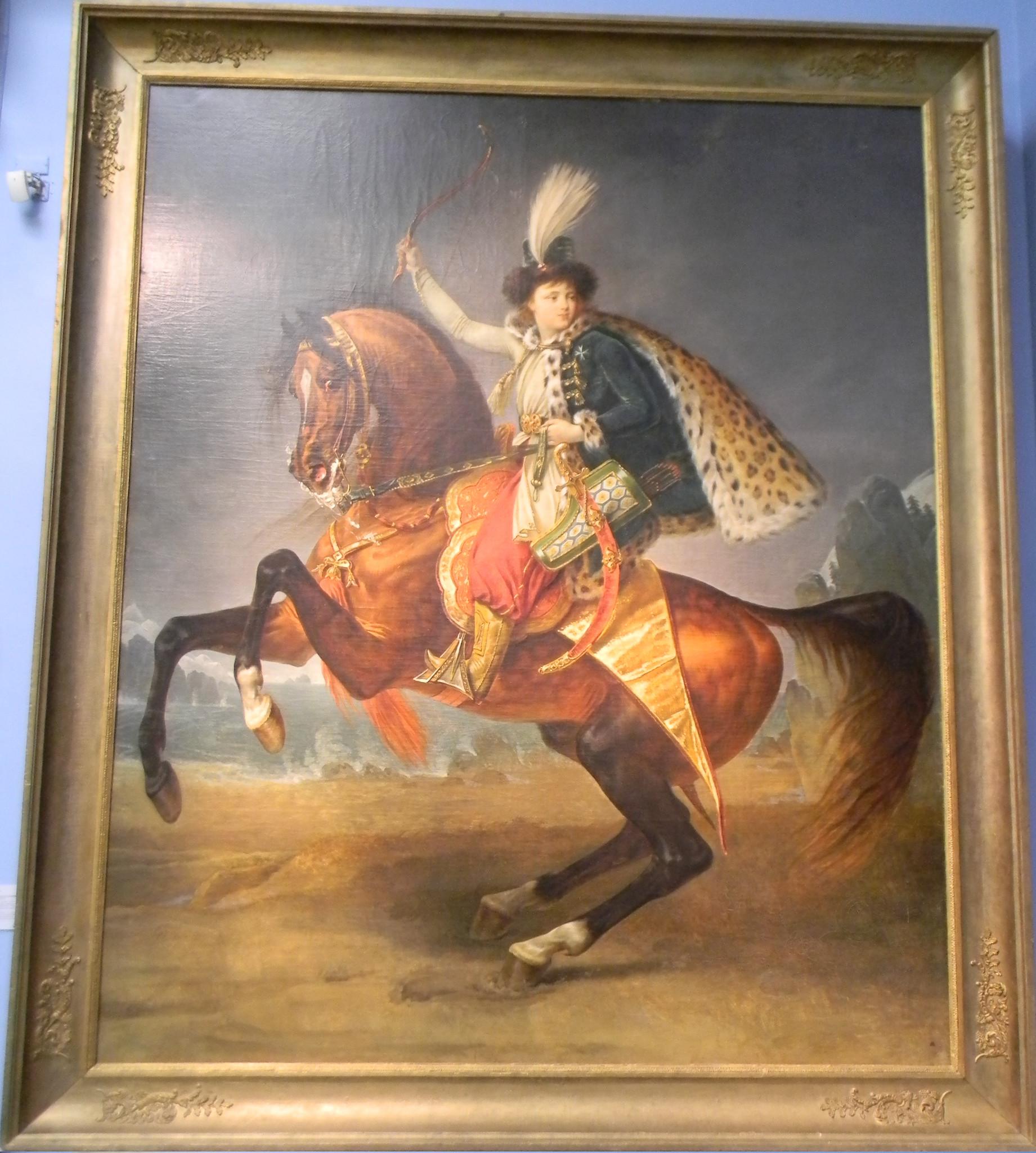 Конный портрет князя Бориса Николаевича Юсупова