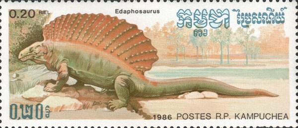 Эдафозавры (Edaphosaurus)
