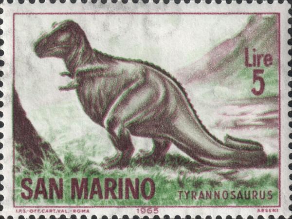 Тираннозавр (Tyrannosaurus)