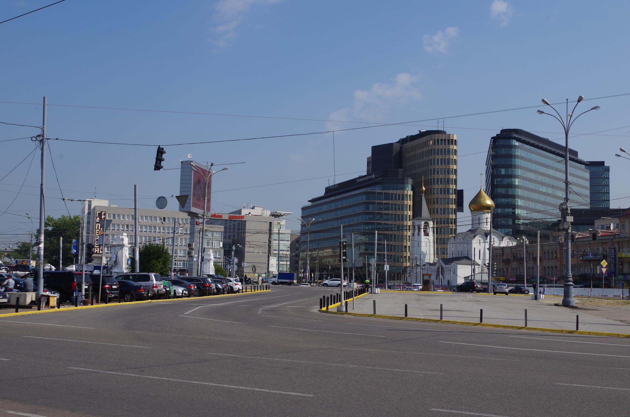 Площадь Тверской Заставы