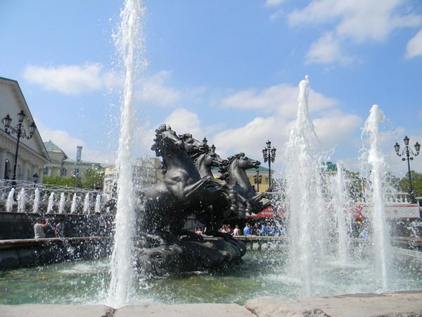 Фонтан на Манежной площади