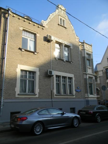 Хлебный переулок, дом 20