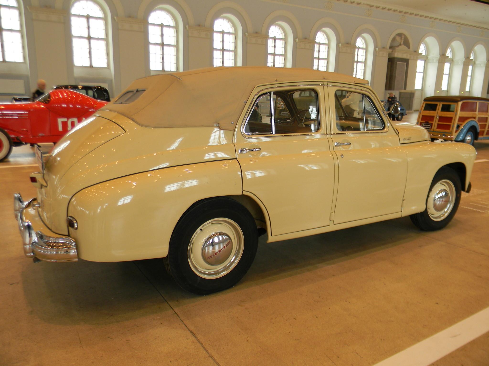 ГАЗ-М-20 «Победа» кабриолет