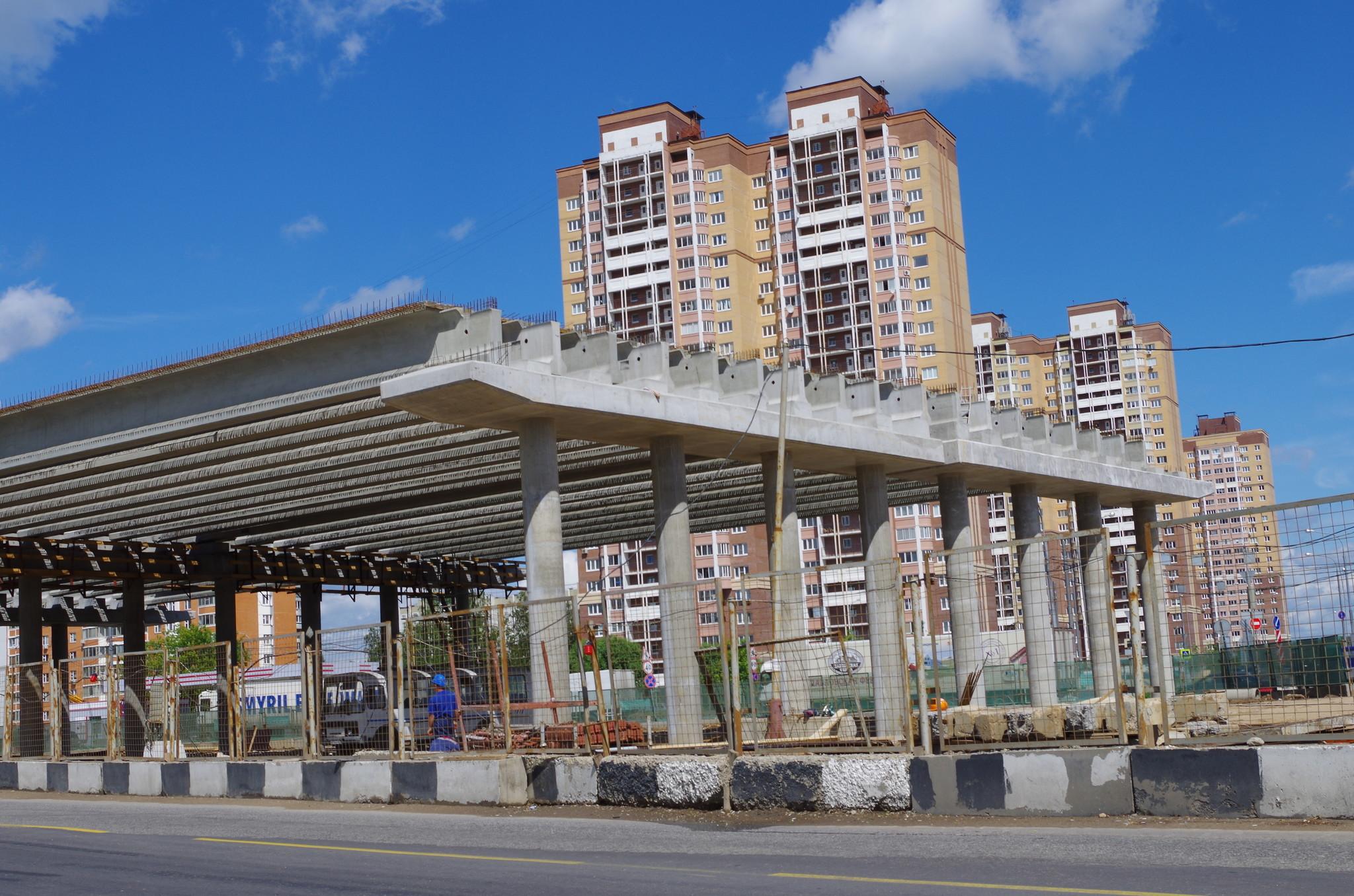 Дмитровское шоссе в 4-м микрорайоне Северного