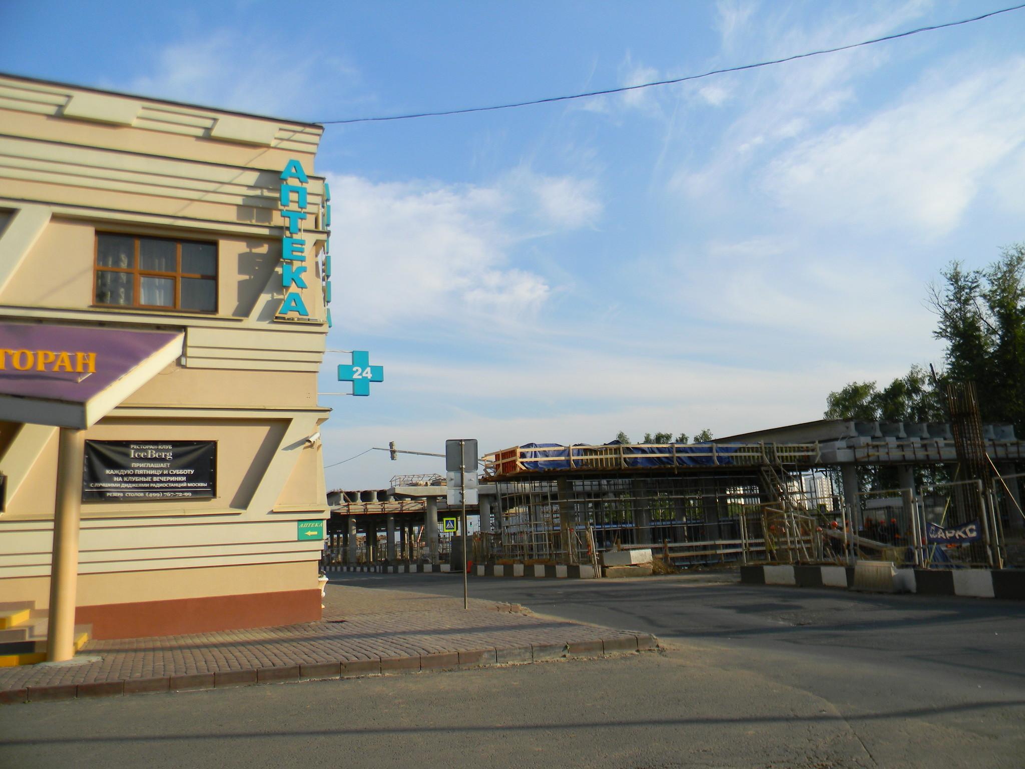 Реконструкция Дмитровского шоссе