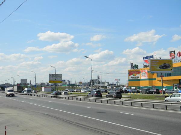 Развязка МКАД - Дмитровское шоссе