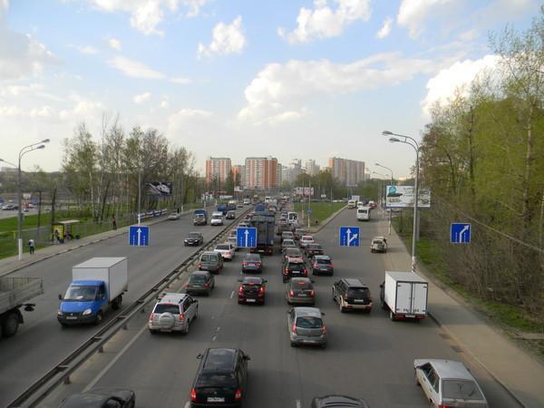 Развязка Дмитровского шоссе с Долгопрудненским шоссе