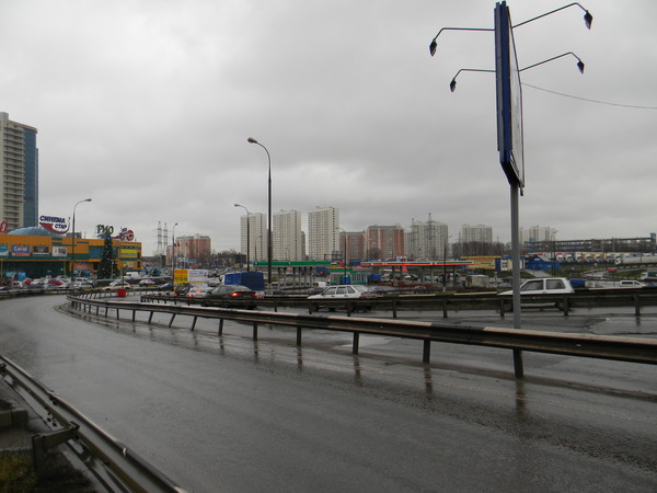 Развязка: МКАД - Дмитровское шоссе