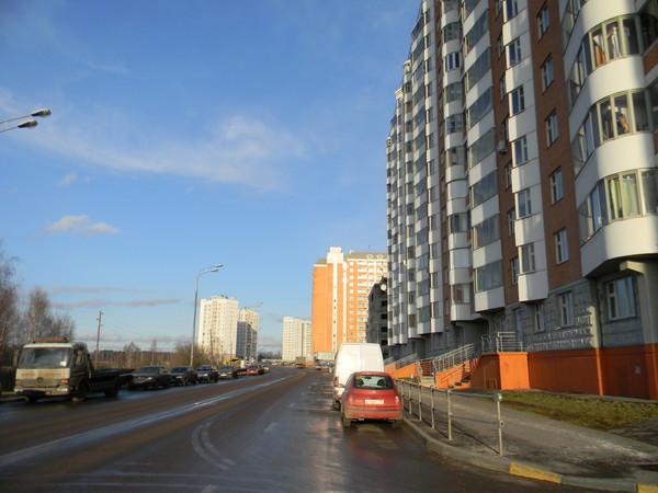 Объездная дорога вокруг 9-го микрорайона Северного