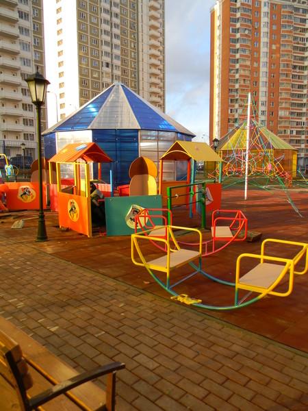 Площадка для детей-инвалидов в Северном