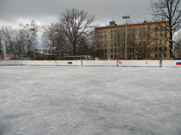Спортивная площадка в 4-м микрорайоне района Северный СВАО