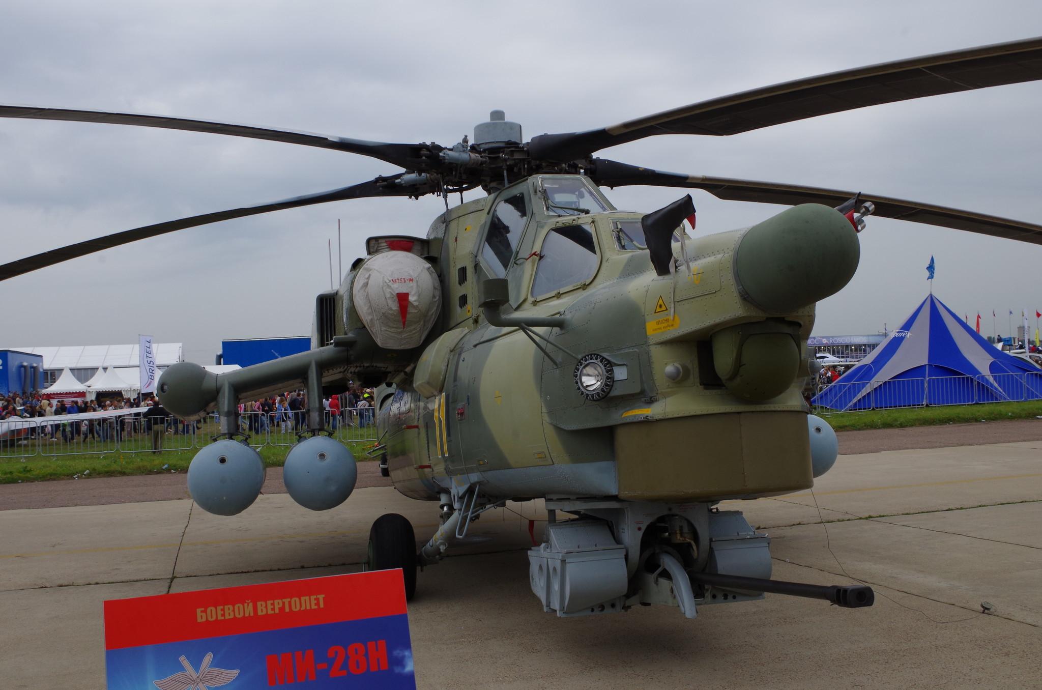 Боевой вертолет Ми-28Н «Ночной охотник»