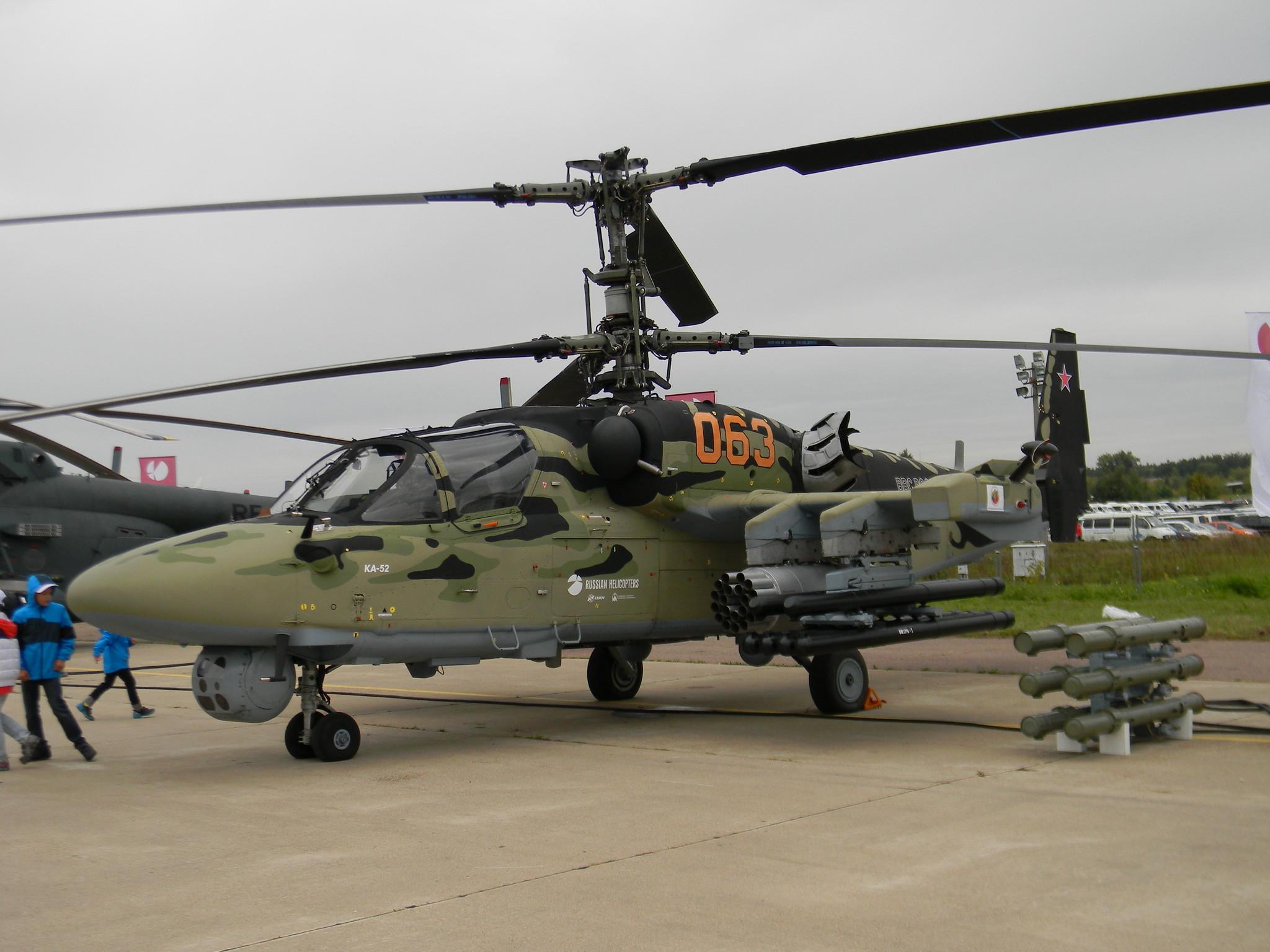 Многоцелевой всепогодный боевой вертолёт Ка-52