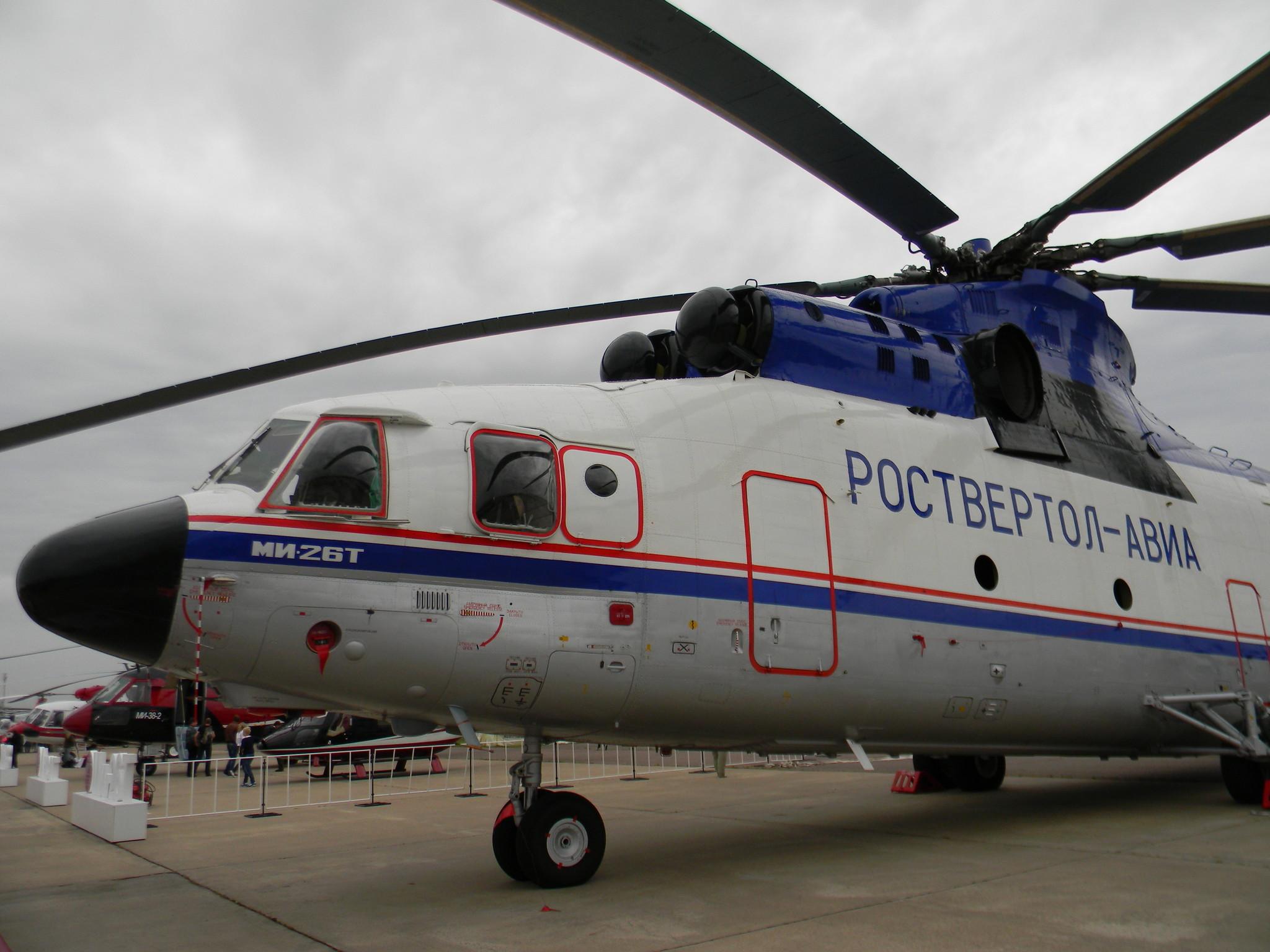 Транспортный вертолёт Ми-26Т