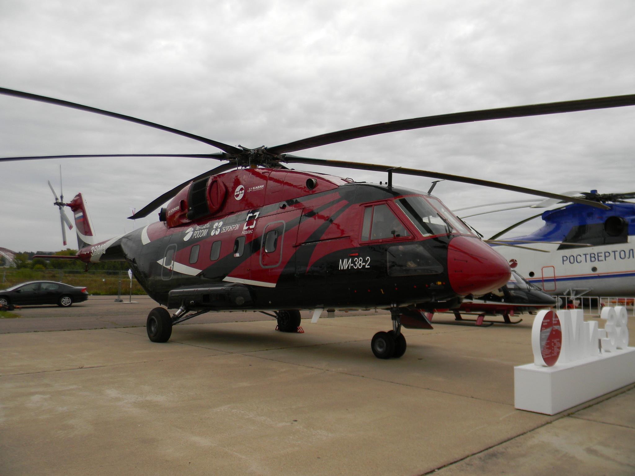 Cредний транспортный вертолёт Ми-38