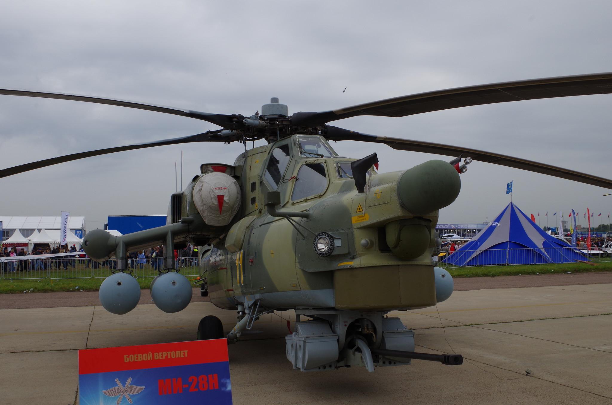 Ударный вертолет Ми-28Н «Ночной охотник»