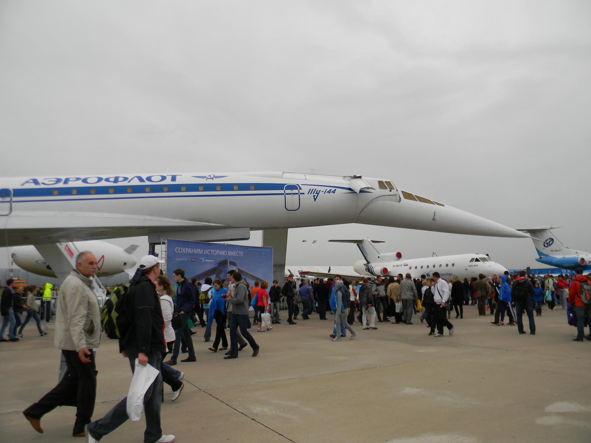 Cверхзвуковой пассажирский самолёт Ту-144