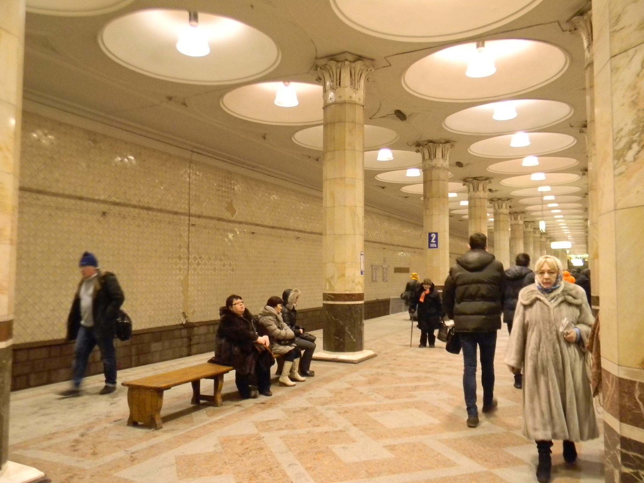 Зал станции метро