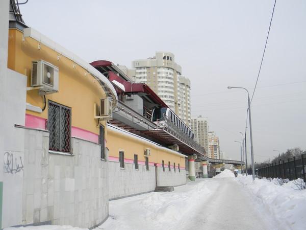 Московская монорельсовая дорога
