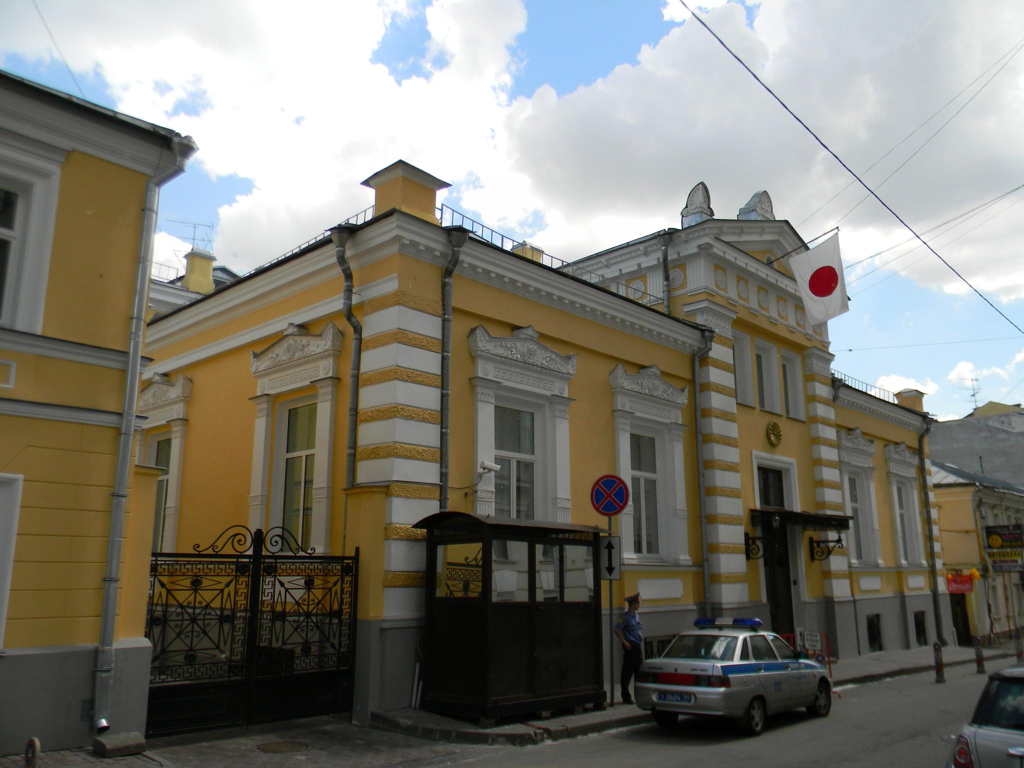 Резиденция посла Японии (Калашный переулок, дом 12)