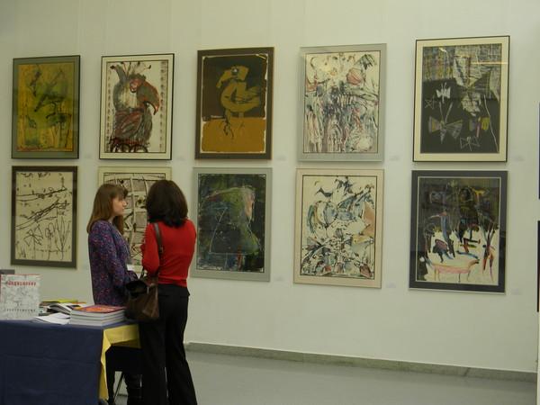 На VII ярмарке графических искусств