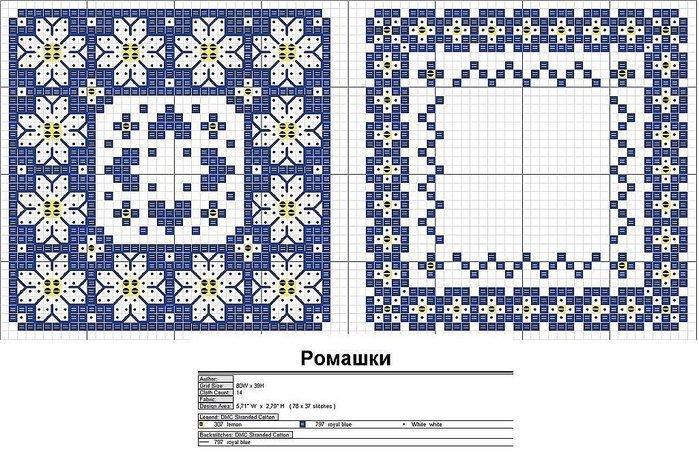 Коллекция схем для вышивания