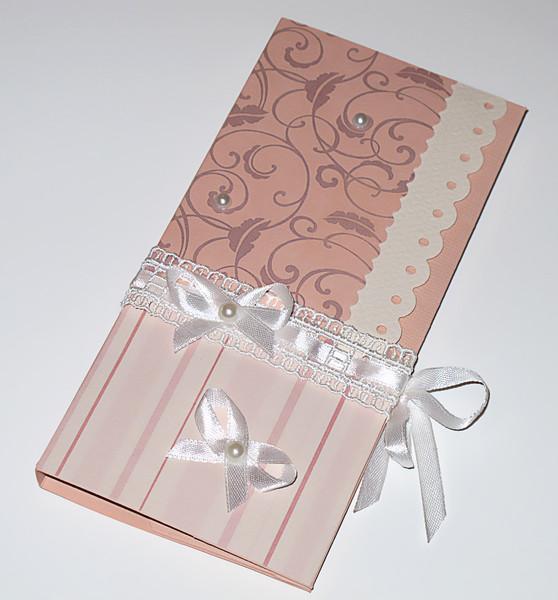 Шоколадка в открытке своими руками