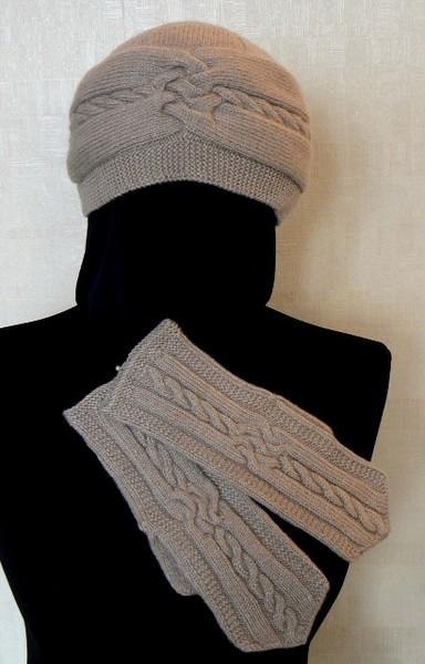 шапочка и рукавички