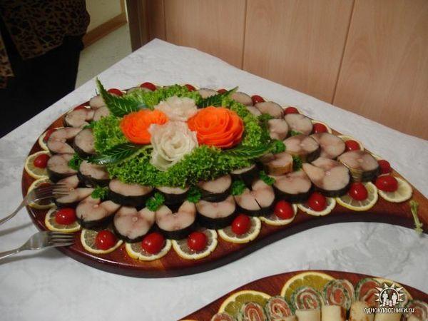 И рецепты красивых блюд для праздничного стола