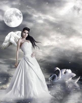 Сильная, смелая, как лебедь белая !!!