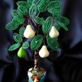 бисерное дерево.  Фото пользователя Аня Касаткина с меткой.