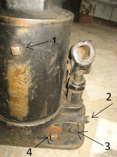 Фото о ремонте гидравлического домкрата своим руками