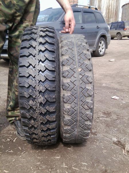где купить и установить недорого российские шины на газель
