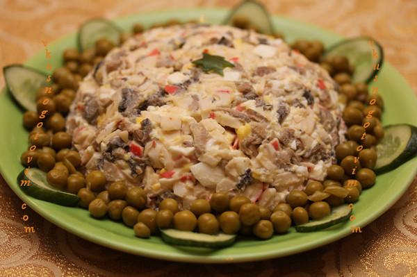 Кулинария салаты без майонеза - a5d0e