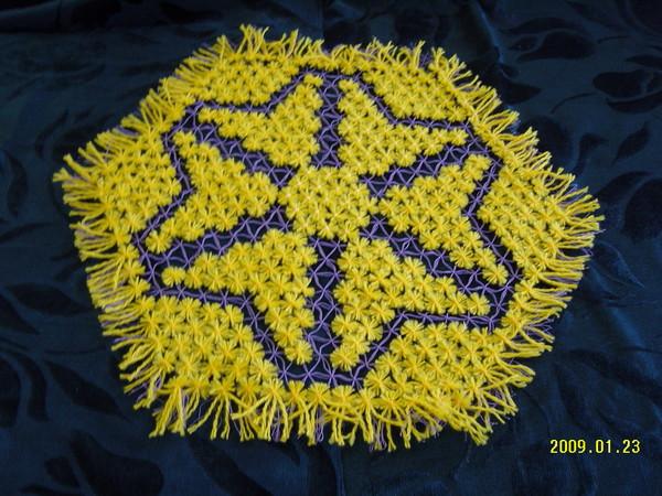 Салфетка-желтая