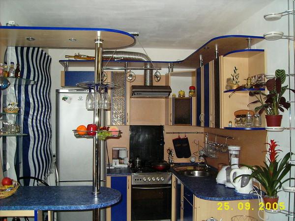 Маленькая кухня 6 кв м придумайте