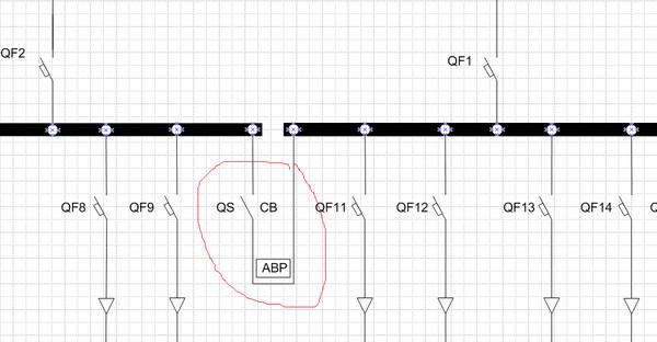 ...схеме электроснабжения 0,4 кв, у меня есть АВР по идее там должен стоять секционный ВЫКЛЮЧАТЕЛЬ, но препод...