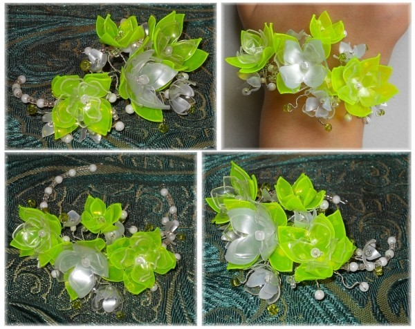 Цветы сделанные своими руками из пластика - Stroy-lesa11.ru