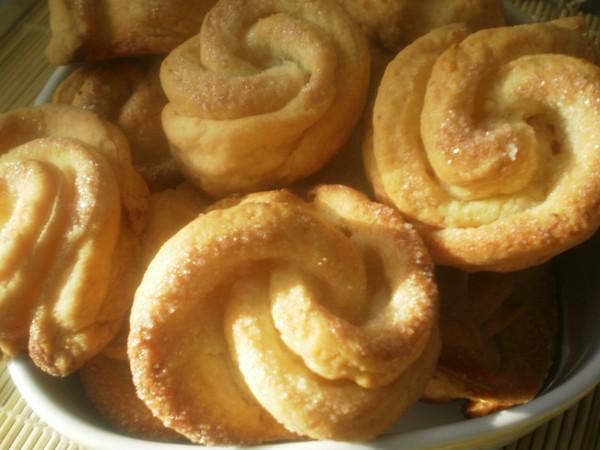 Песочное печенье с творогом рецепт с фото