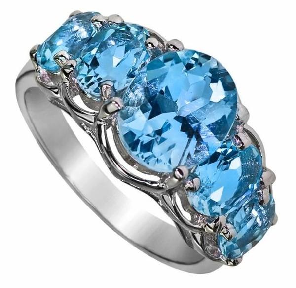 Голубой топаз свойства камня